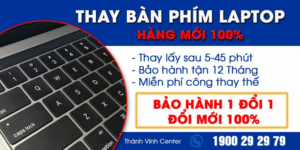 thay bàn phím laptop lấy liền HCM
