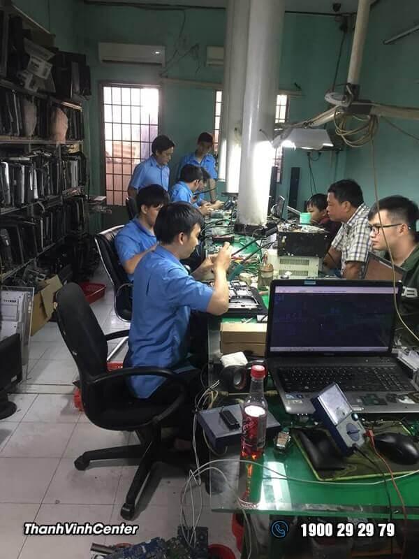 Phòng kỹ thuật - Chuyên Sửa laptop Lấy Liền Sửa laptop 24h của Thành Vinh Center