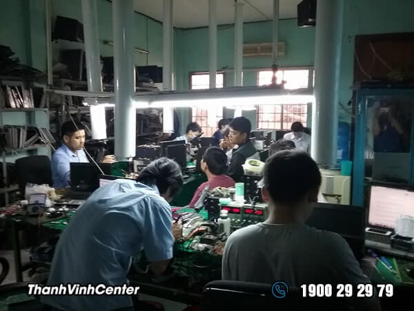 Phòng kỹ thuật - Chuyên sửa Mainboard laptop Sửa laptop 24h của Thành Vinh Center 02