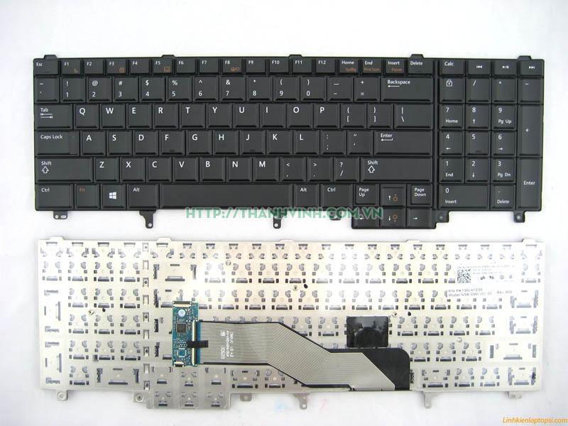 Bàn phím laptop Dell Latitude E5520 E5520M E5530