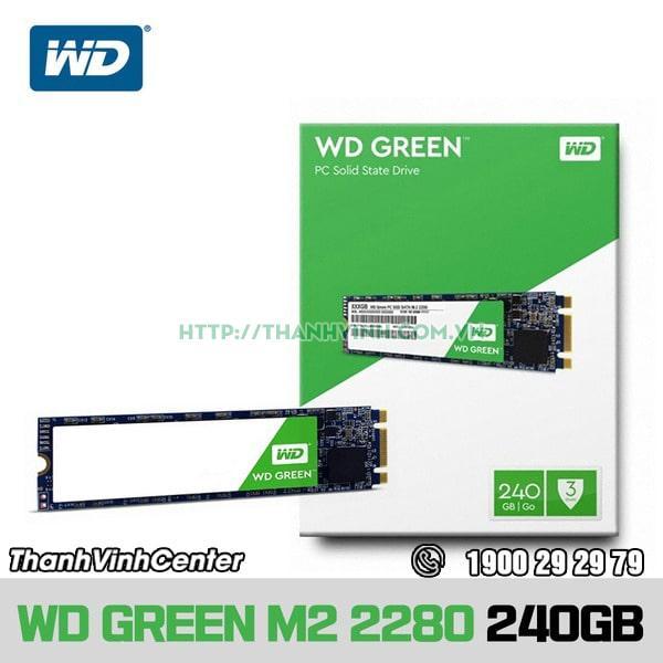 Ổ cứng SSD Laptop 240GB WD M2