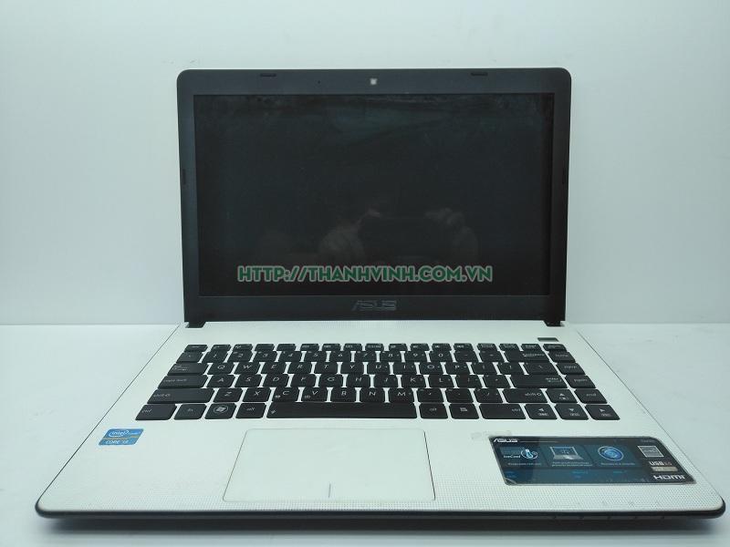 Laptop  cũ Asus X401A (Core i3 2350M, RAM 4GB, HDD 500GB, Intel HD Graphics 3000, 14 inch) trắng, thừa hưởng công nghệ tiết kiệm pin đã bán