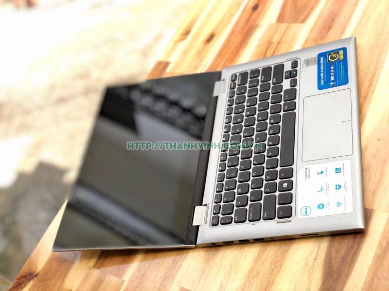 Laptop cũ Dell Inspiron 3148 Core i3 4030U, 4GB Ram, SSD 128GB, VGA HD Graphics 4400, 11-inch cảm ứng xoay 360 độ