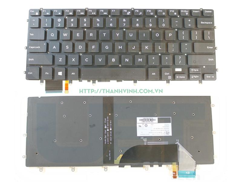 Bàn phím Dell Inspiron 15 7558 15 7568 - XPS 15 9550 9570 - Precision 5510 m5510 m5520