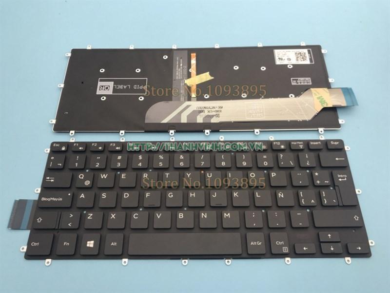 Bàn phím Dell Inspiron 14 14-7000 14-7460 14-7466 14-7467 14-7472 P74G có đèn