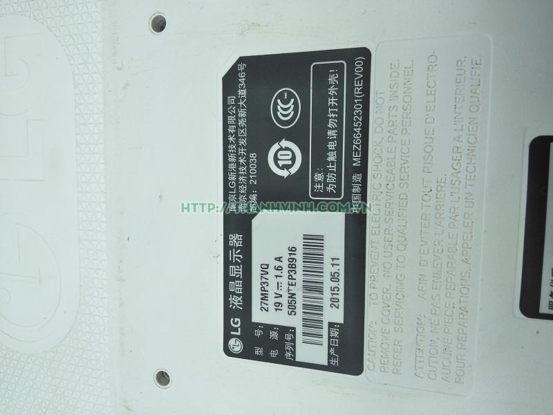 MÀN HÌNH ĐỂ BÀN CŨ LG LED 27 inch 27MP37VQ