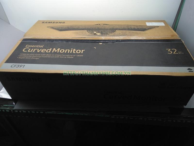 Màn hình để bàn 32 inch cong full HD+ full box bảo hành chính hãng SAMSUM mã; C32F391FWE