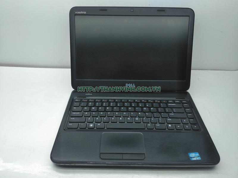 LAPTOP CŨ DELL VOSTRO 2420 (CORE I3-2328M, RAM 4GB, HDD 500GB, INTEL HD GRAPHICS 3000, 14 INCH, FREEDOS)