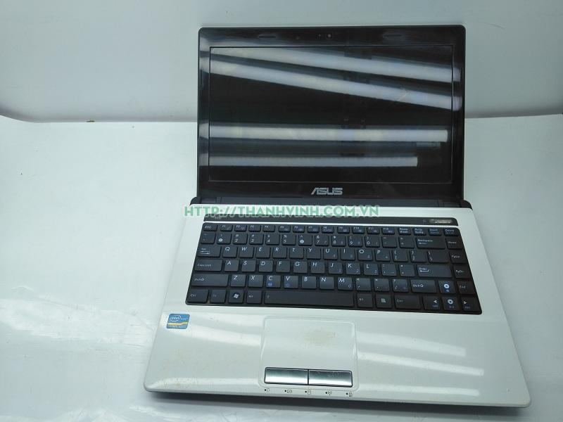 Laptop cũ Asus K43E (Core i3-2350M, RAM 4GB, HDD 500GB, Intel HD Graphics 3000, 14 inch, FreeDOS)