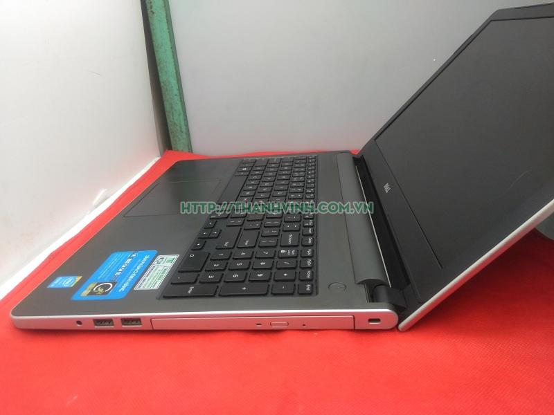 LAPTOP CŨ DELL INSPIRON 5558 BẠC (CORE I3  4005U, RAM 4GB, HDD 500,VGA HD GRAPHICS , 15.6 INCH HD) CÒN TEM FPT