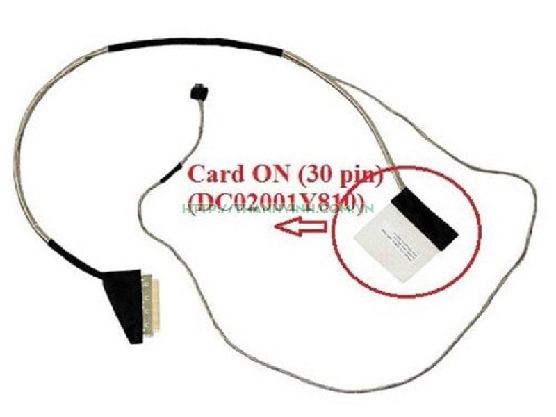 Cáp màn hình ACER E5-571G E5-511 E5-531 E5-521 V3-572 E5-572 (30PIN) (ON) DC02001Y810
