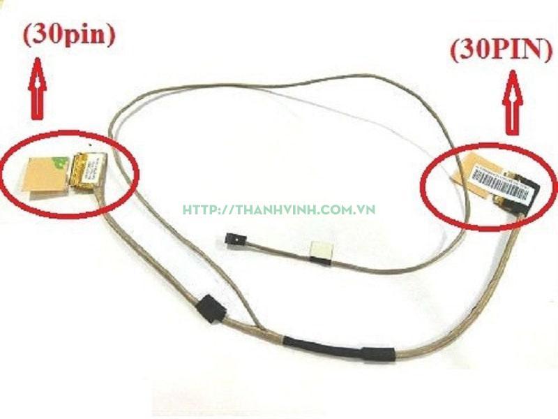 Cáp màn hình ASUS X550 EDP 30PIN (loại 4) (1422-01JK000)