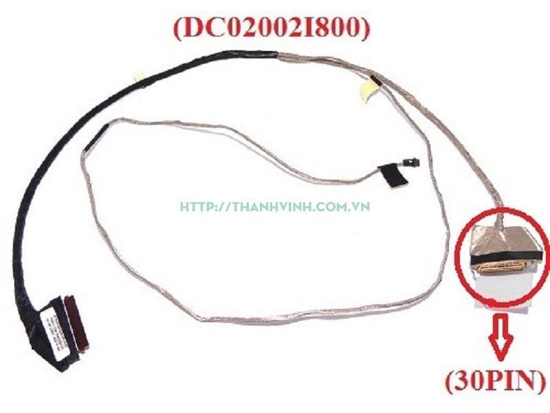Cáp màn hình DELL 5567 5565 Inspiron (30pin) (DC02002I800)