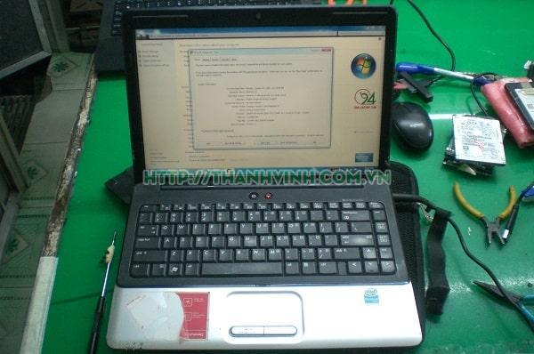Rả xác laptop hp cq40