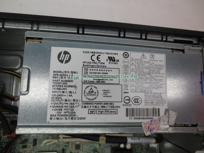 MÁY TÍNH ĐỒNG BỘ CŨ HP CÓ LOA TÍCH HỢP MAIN HP ETILEDESK 800 G1 SFF CPU I3-4130 -,HDD 500GB,RAM 4GB  VGA INTEL HD GRAPHICS 4400