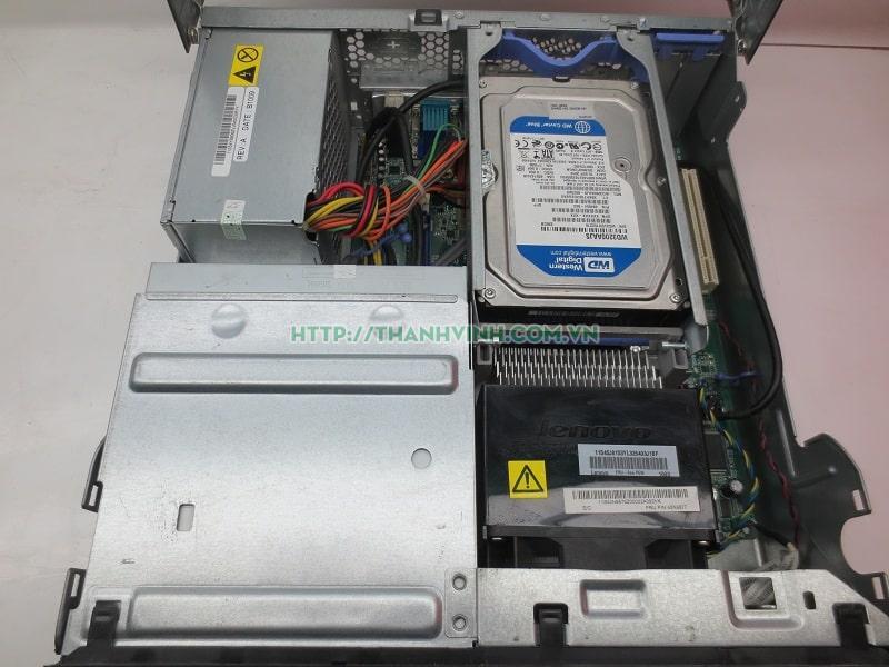 Máy tính đồng bộ cũ  LENOVO 7483PY4 cpu core 2-E8400 ram 4gb ổ cứng hdd 320gb vga intel q45/q43 express hd graphics.