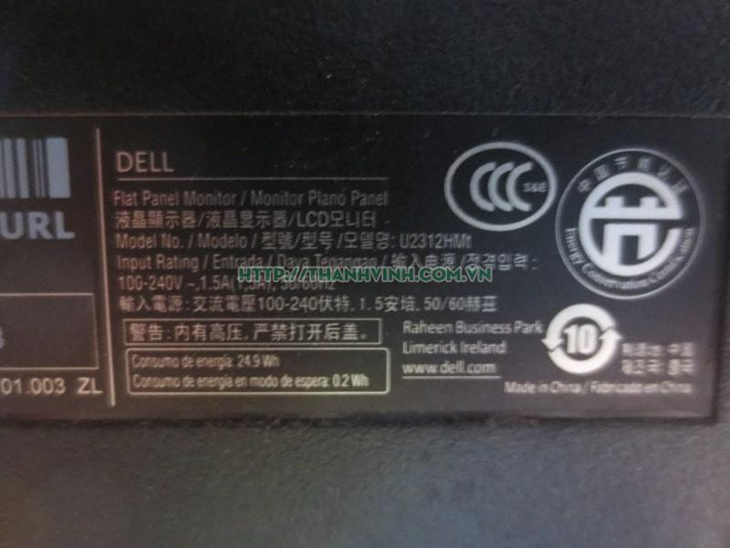 Màn hình máy tính cũ chuyên dùng thiết kế đồ họa DELL Utrasharp U2312HMt1850 23''inch độ phân giải Full HD 1920 x 1080 pixel.(đã bán)
