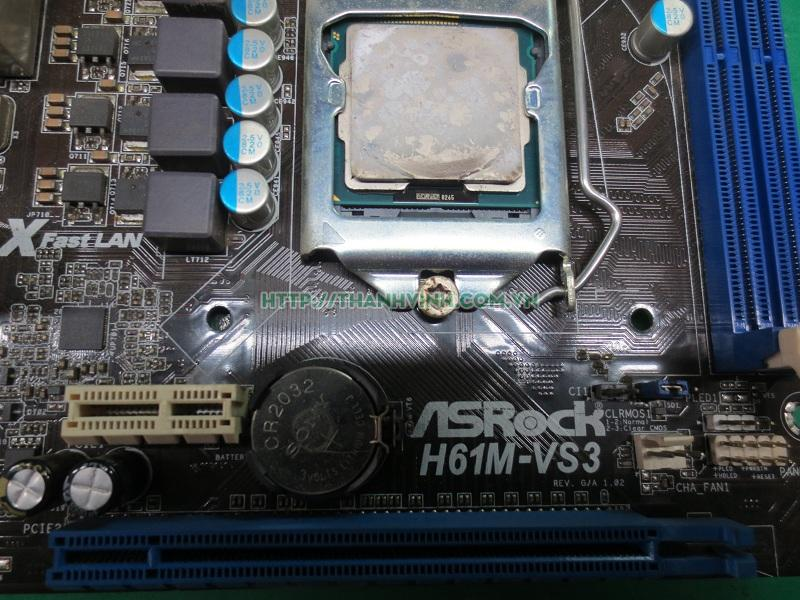 Main máy tính để bàn AsRock H61M-VS3 cũ.