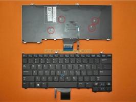 Bàn phím laptop Dell Latitude 12 7000 E7240 E7420 E7440