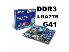 Main asus/GiGa G41 socket 775 DDR3 Cũ