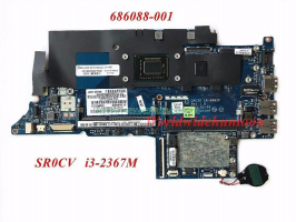MAINBOARD LAPTOP HP ENVY 4-1000 Ultrabook, HP 686088-001, Intel i3-2367M 1.4Ghz CPU
