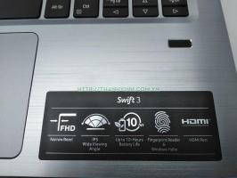LAPTOP ACER SWIFT 3 SF314-41 SERIES CPU  AMD R3-3200-RAM 4GB-SSD 256GB  VGA Onboard | 14FHD IPS WIN10  ( mới mua 04-09-19 còn bảo hành lâu ) ĐÃ BÁN