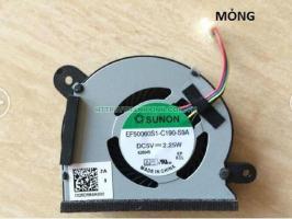Fan-CPU-laptop-ASUS-X202E-S200E-Q200E-X202EP-X201E ( ko liền tản nhiệt) (Mỏng)