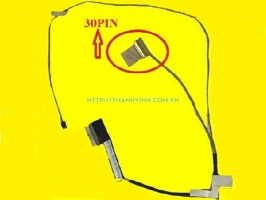 Cáp màn hình ASUS X450 X450L X450LC A450L (K cảm ứng) (loại 2) (30PIN)