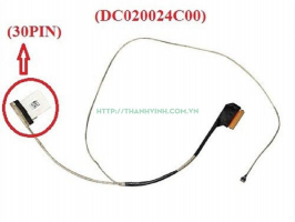 Cáp màn hình DELL 3558 3458 3559 5555 5559 (30PIN) - (DC020024C00) (AAL20)