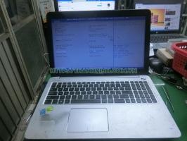 Rã xác laptop asus  K501L