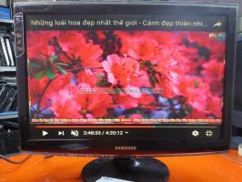 Màn hình máy tính cũ SAMSUNG Sync Master T220600 dùng cho camera 22''inch độ phân giải 1680 x 1050 pixel.