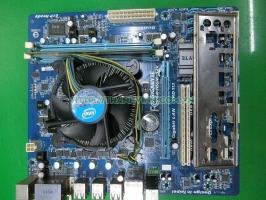Combo Mainboard H55 Gigabyte GA H55M S2V Socket 1156 CPU i3 540 DDR3 2GB Fan 1156 Zin