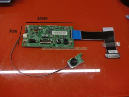 Combo board nguồn điều khiển màn hình + board kích nguồn Samsung C27F390FHE.