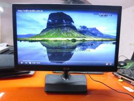 Màn hình máy tính để bàn cũ LG Flatron 19EN33S-B 19''inch độ phân giải 1366 x 768 pixel.