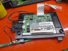 Board nguồn xử lí màn hình + nút kích cảm ứng SAMSUNG S22A350B 22''inch.