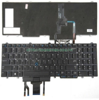 Bàn phím Laptop Dell Latitude E5550 E5570 E5580 E5590 5591 Precision 3510 5710 7510 7710 US LED