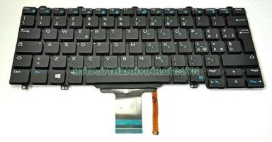 Bàn phím Laptop Dell Latitude 12 E5250 E5270 E7250 E7270 E7275 11 3150 3160 XPS 12 9250 LED