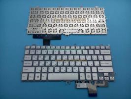 Bàn phím laptop Sony Vaio Multi-Flip SVF111 SVF11 Fit 11 bạc