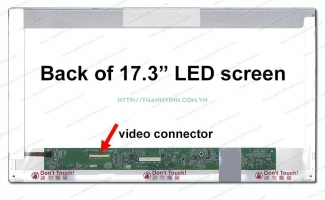 Màn hình laptop Toshiba SATELLITE PRO L770 SERIES