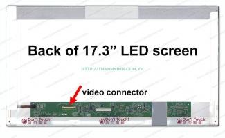Màn hình laptop Toshiba SATELLITE PRO L675 SERIES